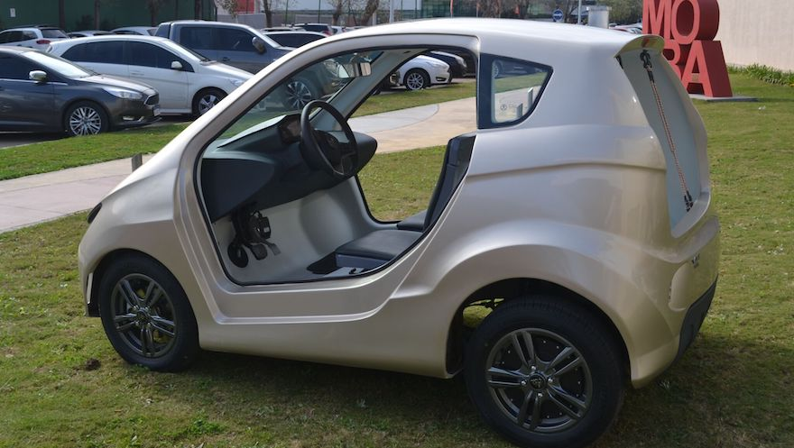 Volt, el modelo cordobés que anda 1500 km por 600 pesos.