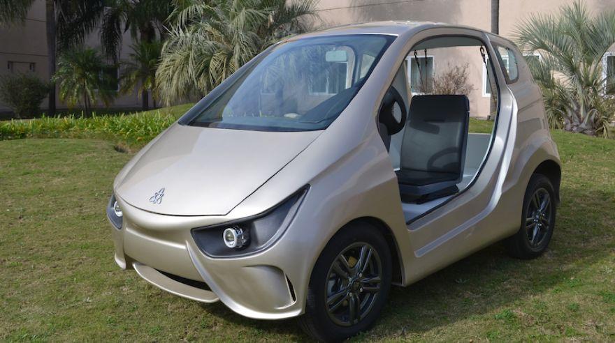 Volt, el primer auto de fabricación nacional homologado para autopistas.