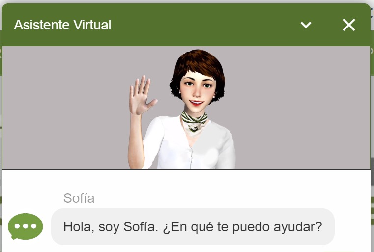 Sofía, la asistente virtual de Banco Comafi está disponible en la web del banco, en Whatsapp y en Facebook