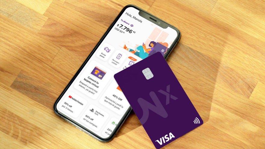 Naranja X, la fintech de Grupo Galicia, lanzó la primera tarjeta Visa innominada del país