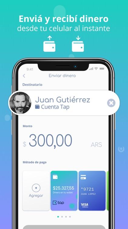 La billetera se encuentra disponible en Argentina para Android y iOS como Tap Billetera