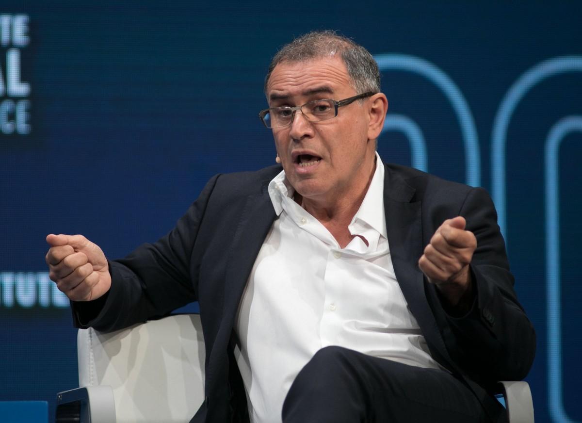 Nouriel Roubini, economista que predijo la crisis global de 2008
