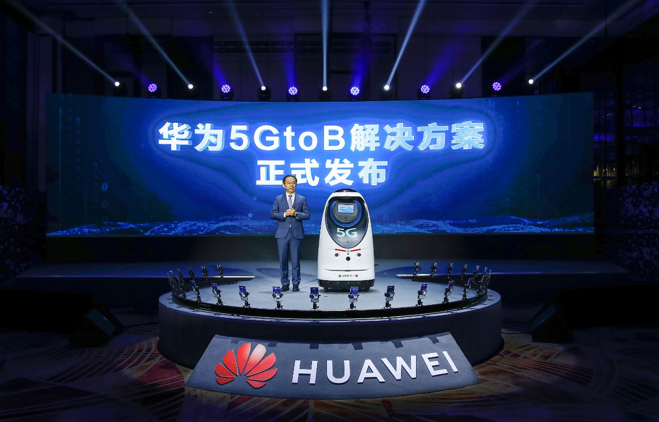 Ryan Ding, director ejecutivo y director general de Carrier Business Group de Huawei