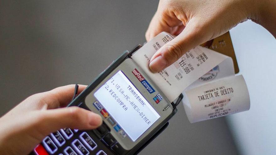 En pequeños gastos sin contacto, el cliente no debe firmar el cupón de pago