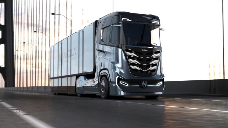del primer camión de hidrógeno, el Nikola One fue todo una