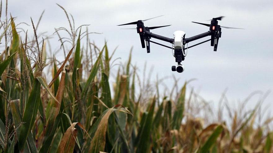 Drones aplicados al agro
