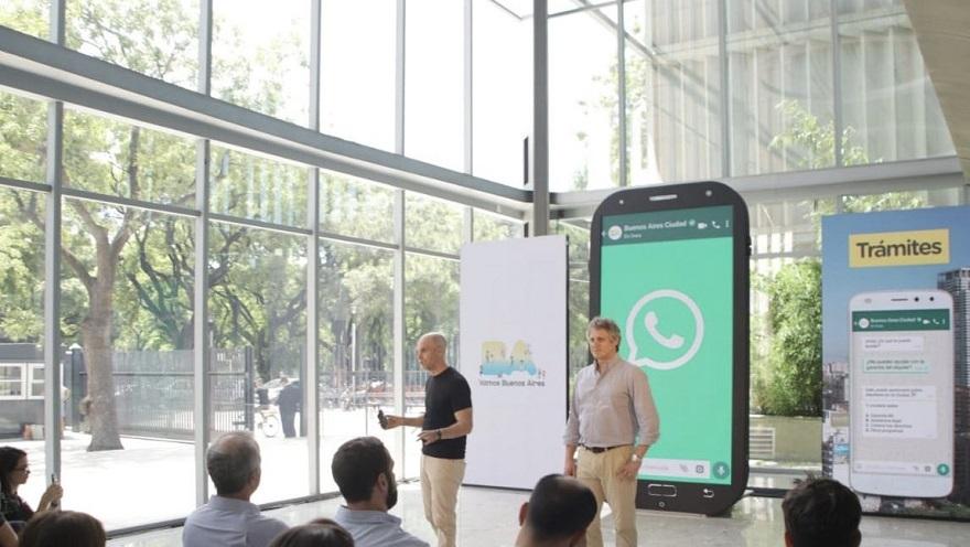 Presentación de Boti en 2019