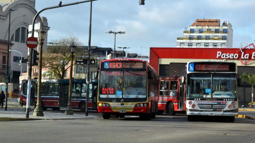 El transporte público es uno de los grandes responsables de la contaminación