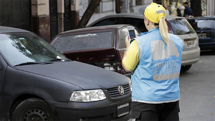 Agente de tránsito de la Ciudad de Buenos Aires