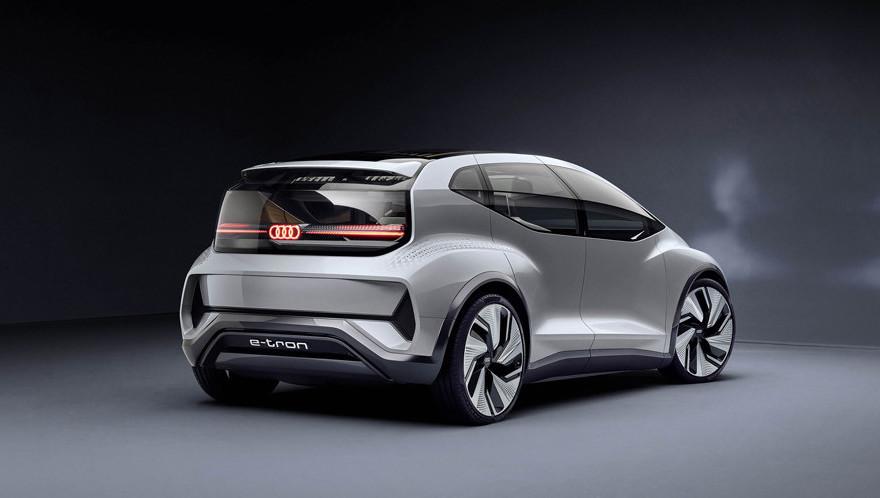 Audi presenta en Shanghái su vehículo autónomo para megaciudades