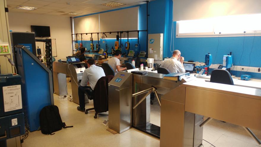 Laboratorio de Nación Servicios en el que se desarrollan las homologaciones de SUBE