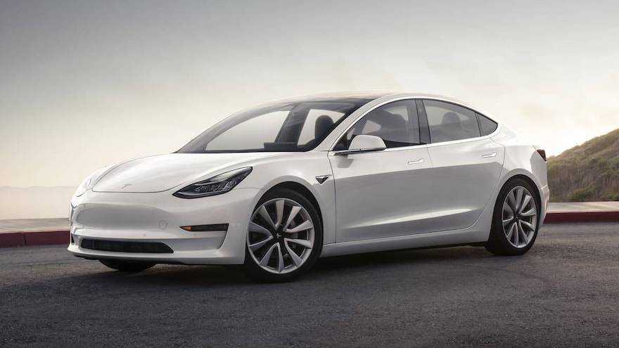 Model 3. El eléctrico furor, con un precio de u$s35.000