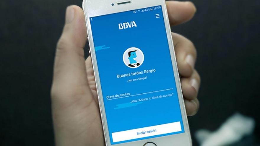 Display de la app BBVA Wallet