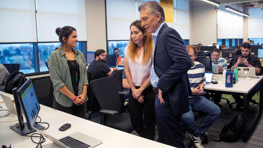 Mauricio Macri lanzó una campaña de descuentos con códigos QR.