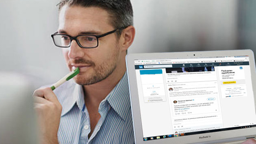 Cada vez más gente usa LinkedIn para encontrar trabajo