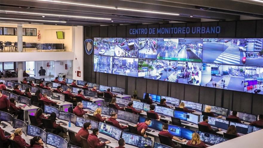 La ciudad de Buenos Aires desplegó una gran cantidad de cámaras en la vía pública