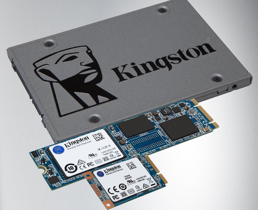 El SSD UV500 en sus distintos formatos.