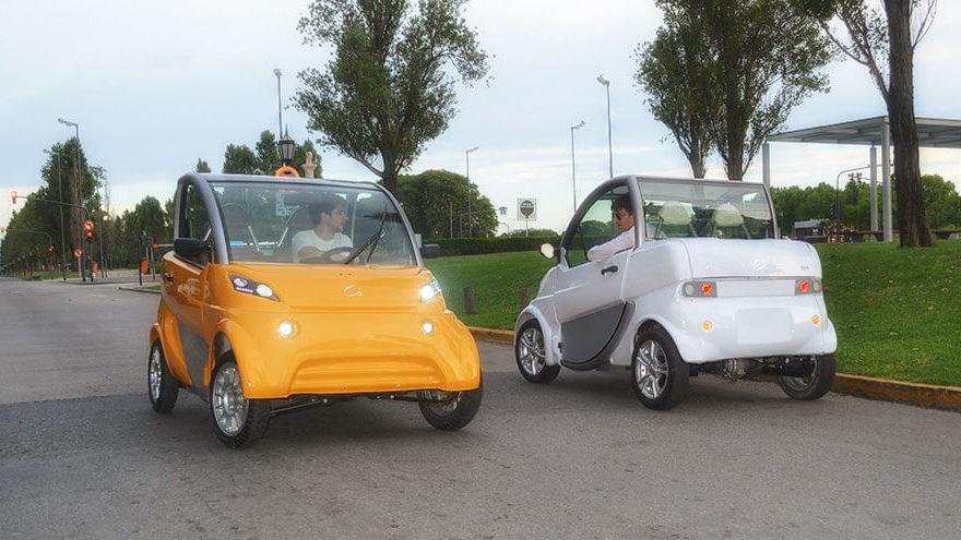 Sero Electric, el auto de producción nacional.