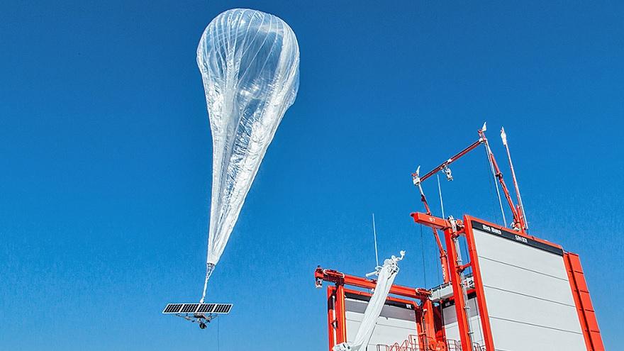 El proyecto Loon consistía en utilizar globos aerostáticos para brindar conectividad a amplias regiones