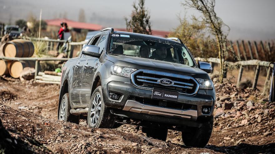 Ford Ranger, la más completa en seguridad.