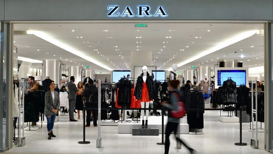 Zara tiene gran presencia en todo el mundo