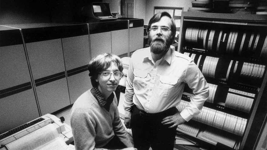 Un joven Bill Gates que ya planeaba cambiar el mundo de la tecnología