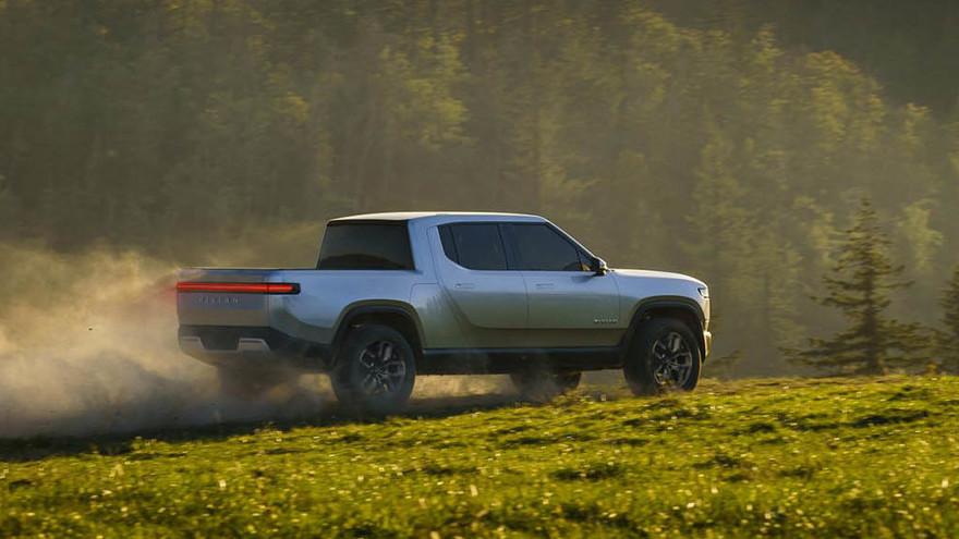 Rivian R1T, otro desafío con el apoyo de Ford y Amazon.