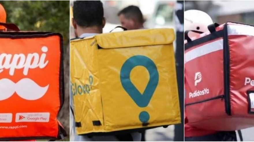 Las cajas de delivery son cada vez más comunes en las calles