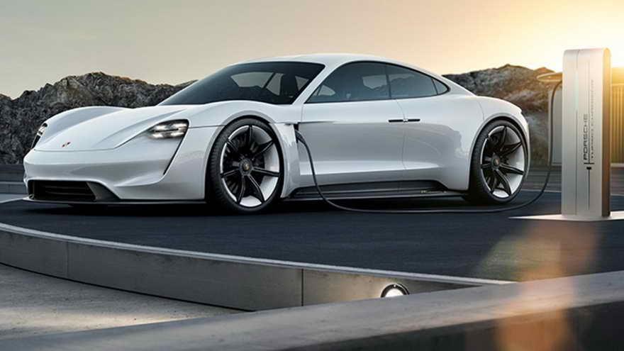 Porsche Taycan, el eléctrico más lujoso.