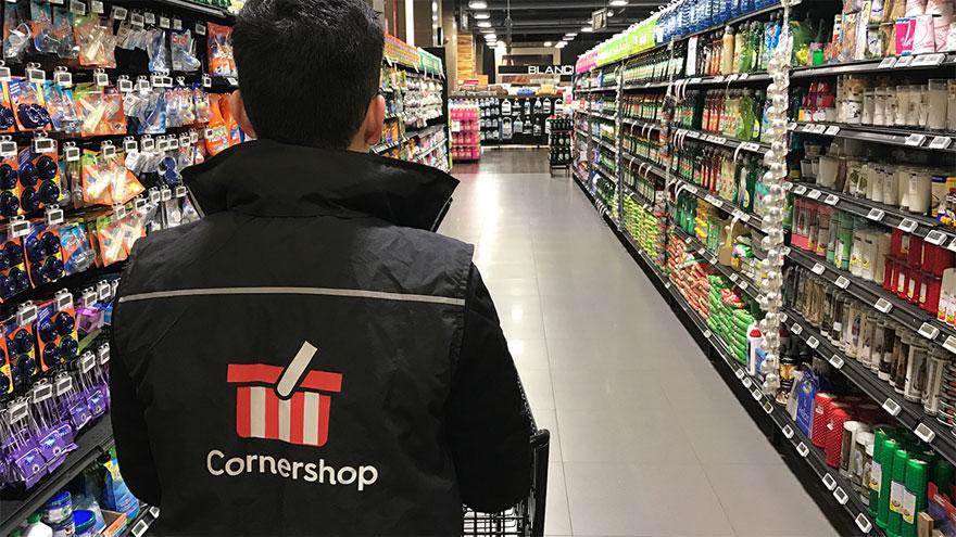 Las compras en el supermercado son la