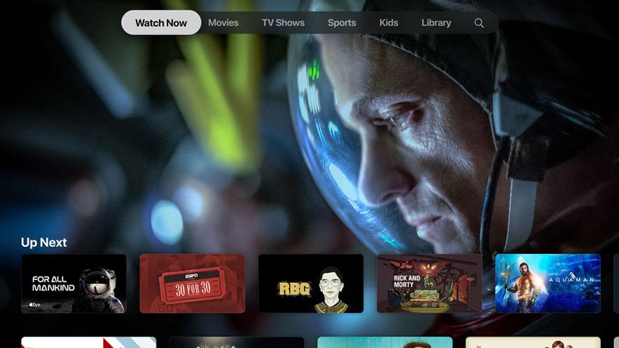 El contenido de Apple TV ya comenzó su despliegue.