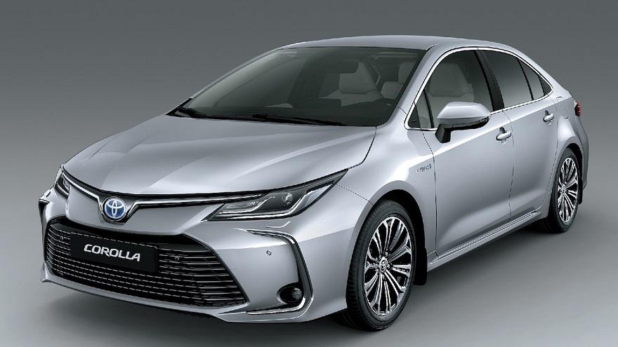 Toyota con su modelo híbrido Corolla lideró la tabla con 884 patentes