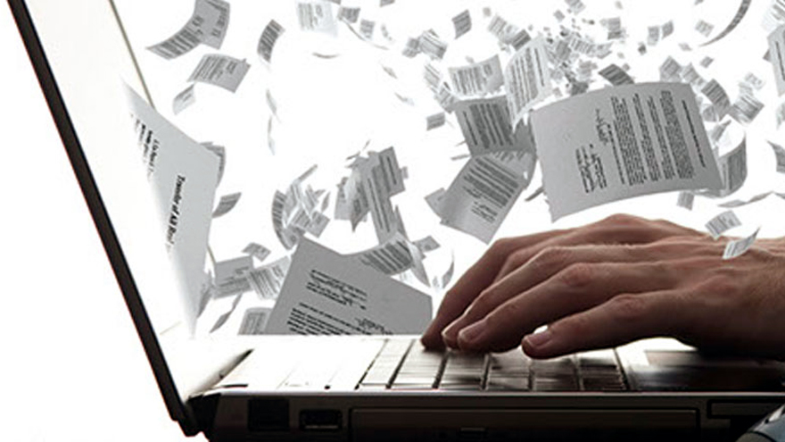 Los tramites digitales implican menos papeleo