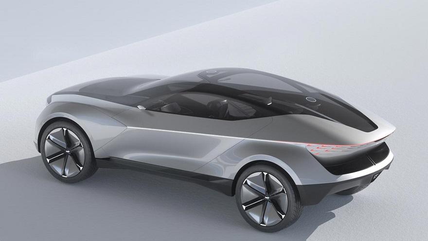 Uno de los autos futuristas de Kia.