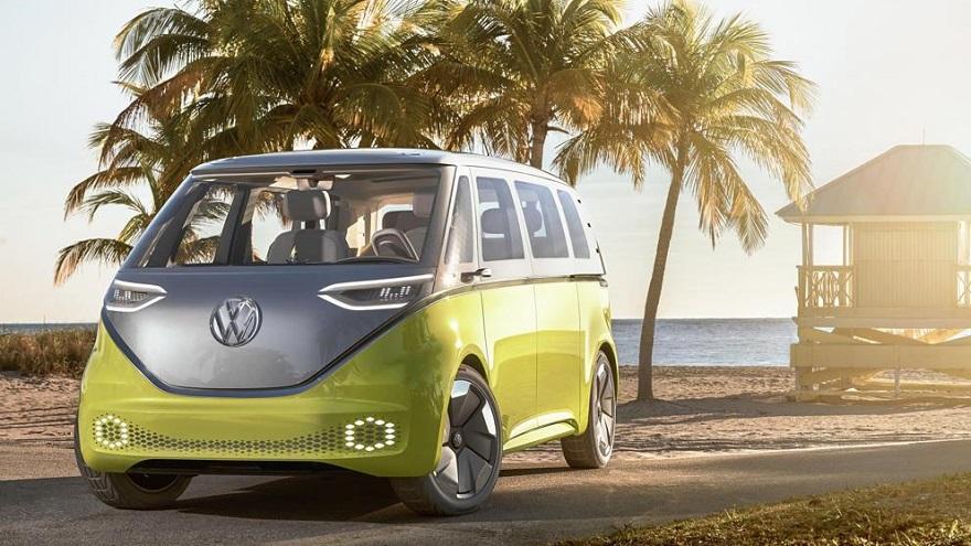 VW ideó la combi eléctrica del futuro.