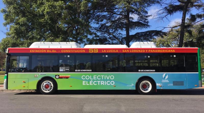 Los colectivos eléctricos serán más comunes