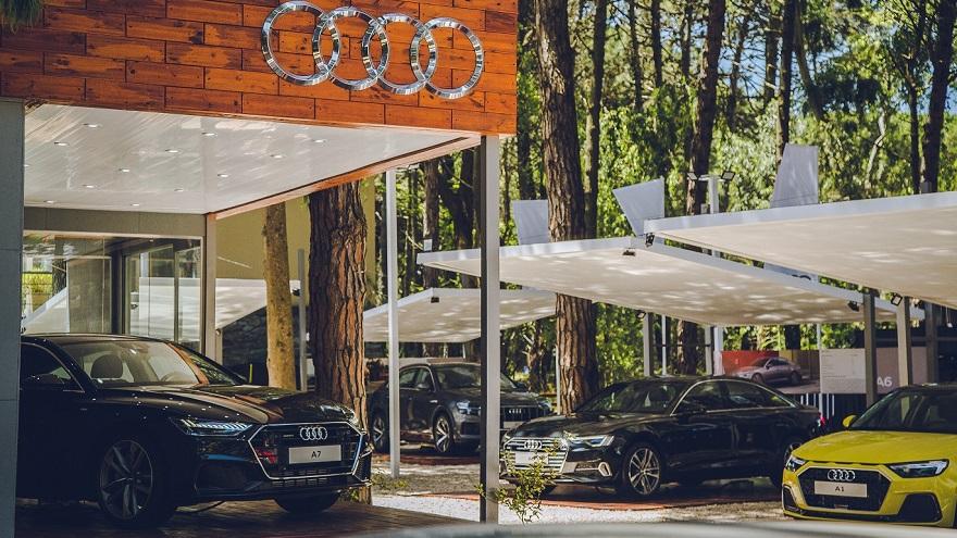 Tienda de Audi