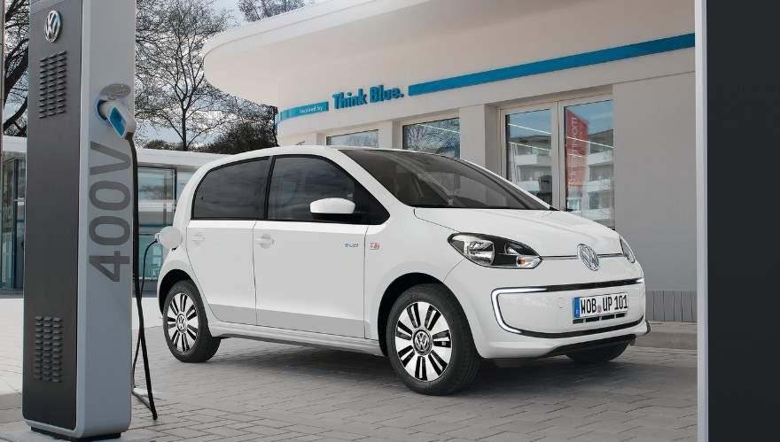 Volkswagen e-up, en etapa de prueba en el país.
