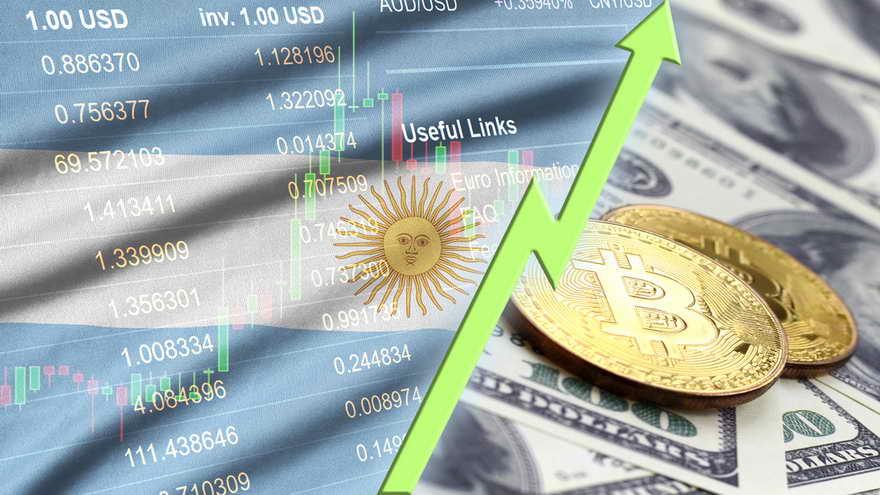 Muchos argentinos eligen el bitcoin como moneda de ahorro