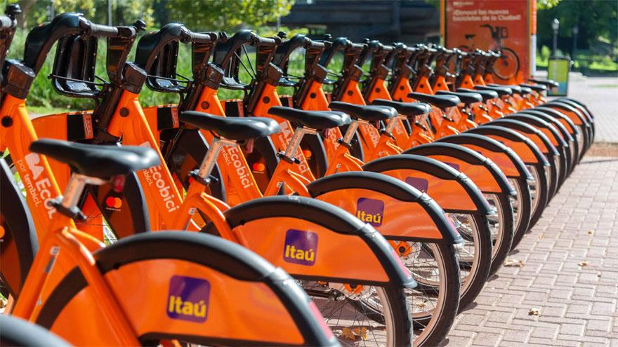 El sistema posee 664.000 usuarios registrados y 4.584 bicicletas