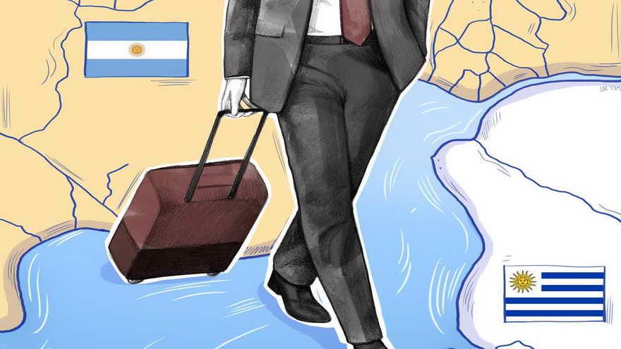Muchas empresas argentinas decidieron radicarse en Uruguay