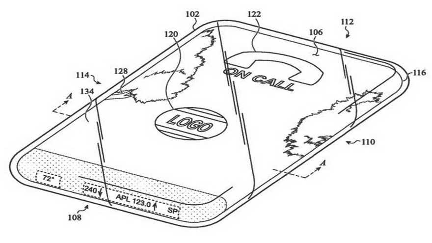 Patente del iPhone de cristal