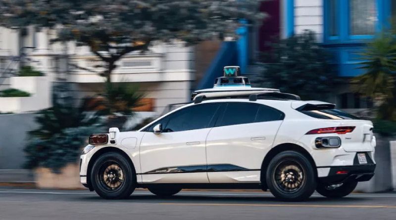Waymo de Google en la calle