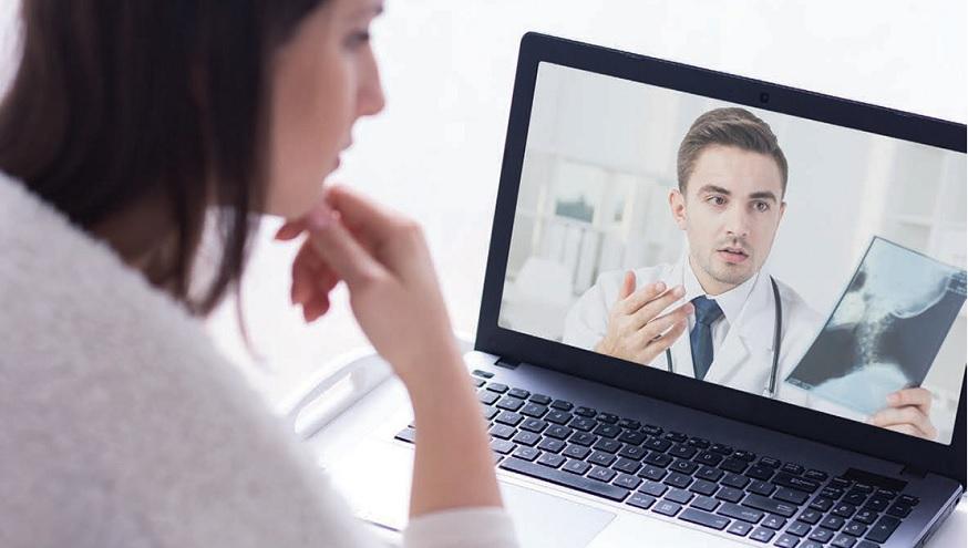 La telemedicina es una gran alternativa para cuidar la salud de las personas desde casa.
