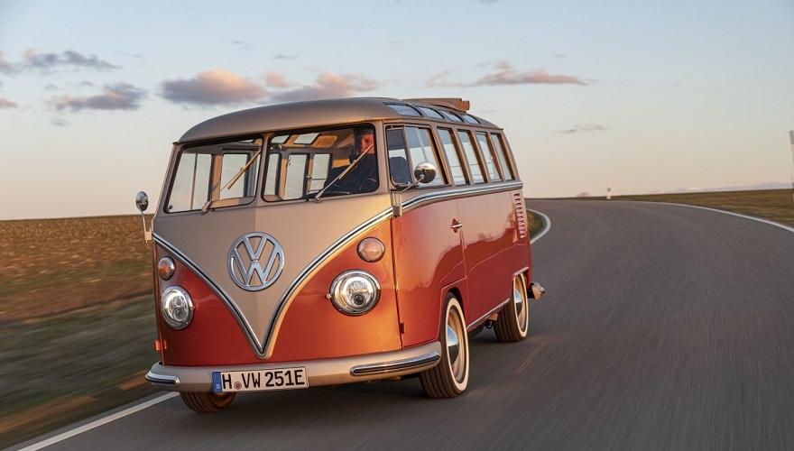 Volkswagen e-BULLI, con tecnología eléctrica.