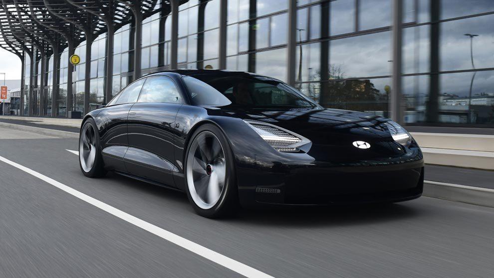 El Hyundai sin volante, auto del futuro.