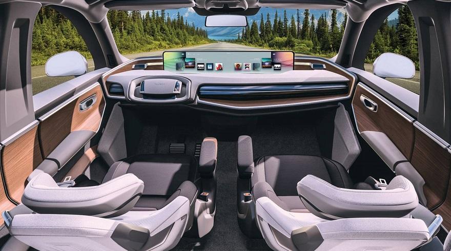 El primer uso que se le daría a los vehículos autónomos es para taxis o delivery automatizado