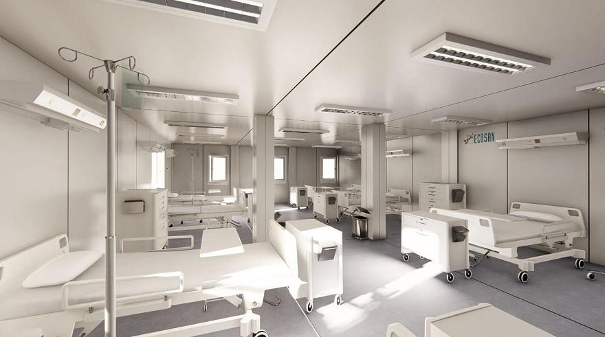 Los hospitales están sufriendo grandes transformaciones por la pandemia.