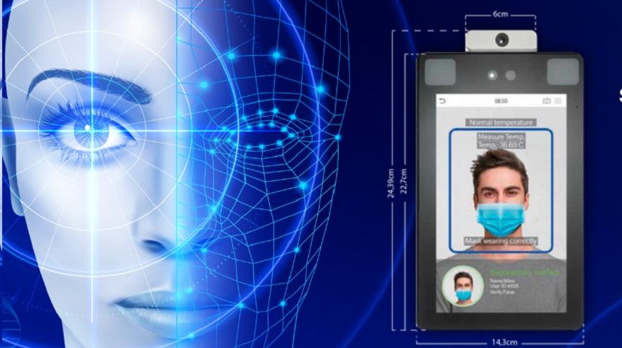 El sistema de reconocimiento facial funciona con 30 caras a la vez.