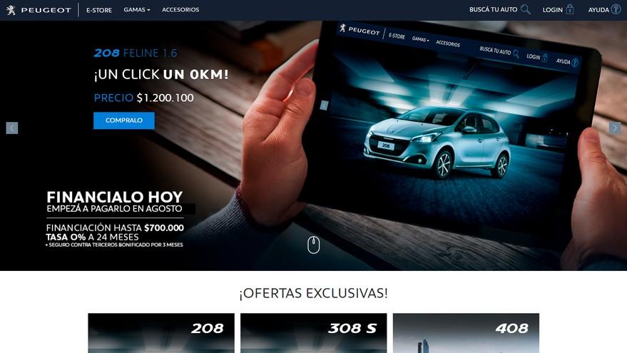 Peugeot fue la primera en potenciar su canal online